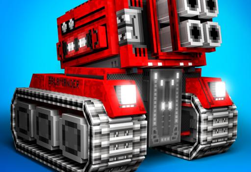 Téléchargement Blocky Cars jeu de voitures online shooter pour PC et Mac