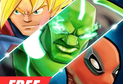 Téléchargement Super héros Jeux de combat Shadow Battle pour PC et Mac
