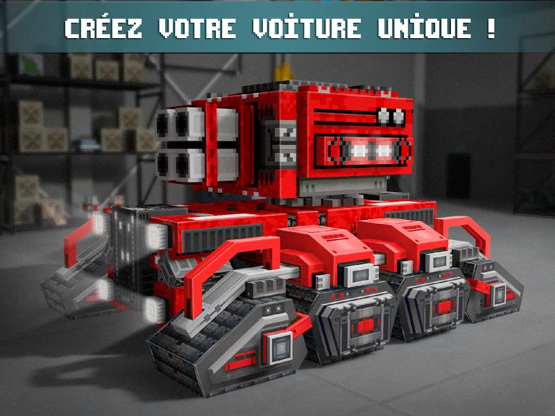 téléchargement de Blocky Cars jeu de voitures online shooter sur PC et Mac