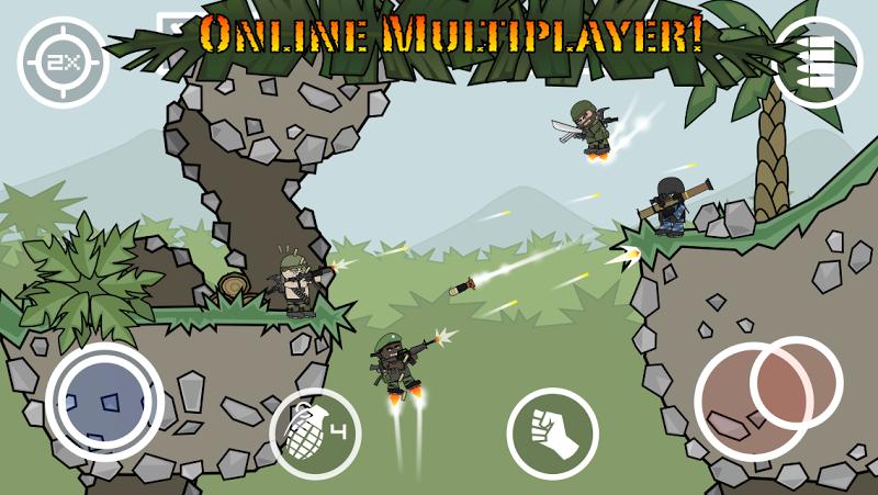 téléchargement de Doodle Army 2 Mini Militia sur PC et Mac