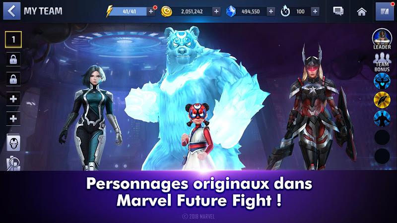 téléchargement de MARVEL Future Fight sur PC et Mac