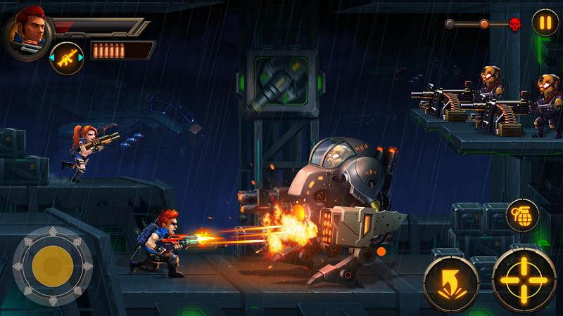 téléchargement de Metal Squad Shooting Game sur PC et Mac