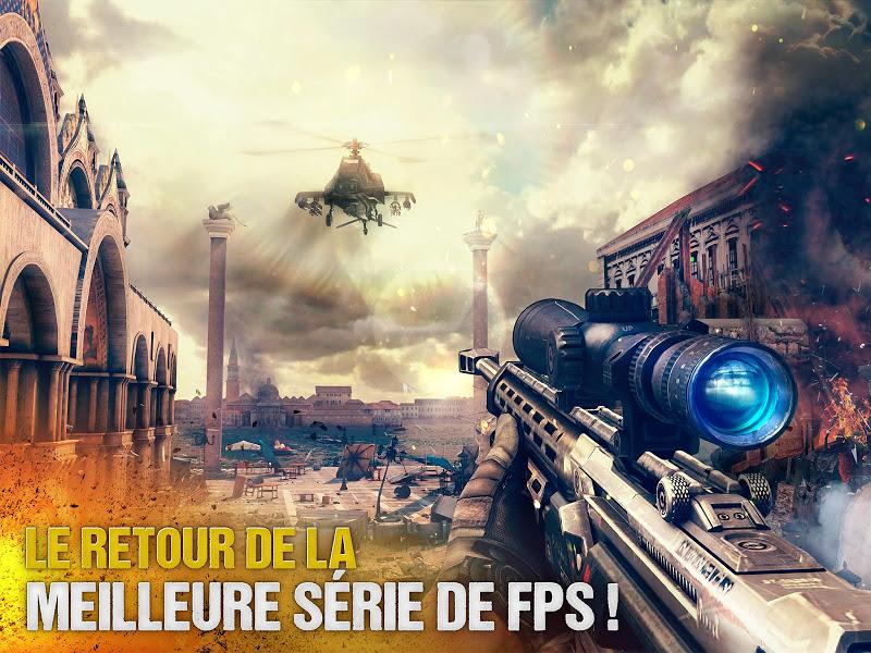 téléchargement de Modern Combat 5 eSports FPS sur PC et Mac