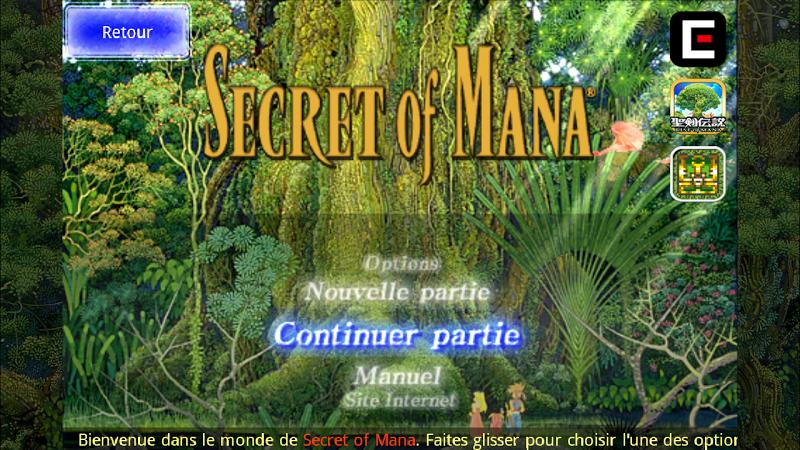 téléchargement de Secret of Mana sur PC et Mac