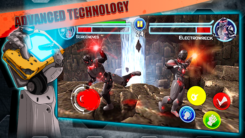 téléchargement de Steel Street Fighter jeu de combat Robot sur PC et Mac