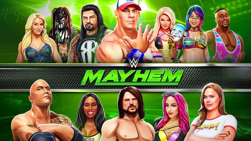 téléchargement de WWE Mayhem sur PC et Mac