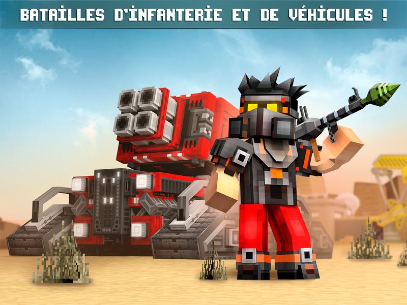 télécharger gratuitement Blocky Cars jeu de voitures online shooter PC et Mac