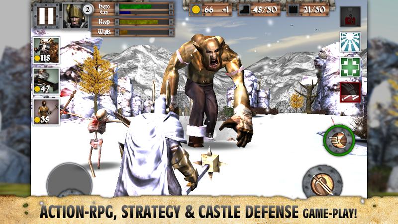 télécharger gratuitement Heroes and Castles PC et Mac