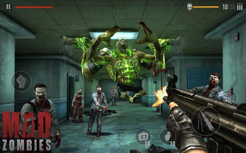 télécharger gratuitement MAD ZOMBIES Jeux de Zombie PC et Mac