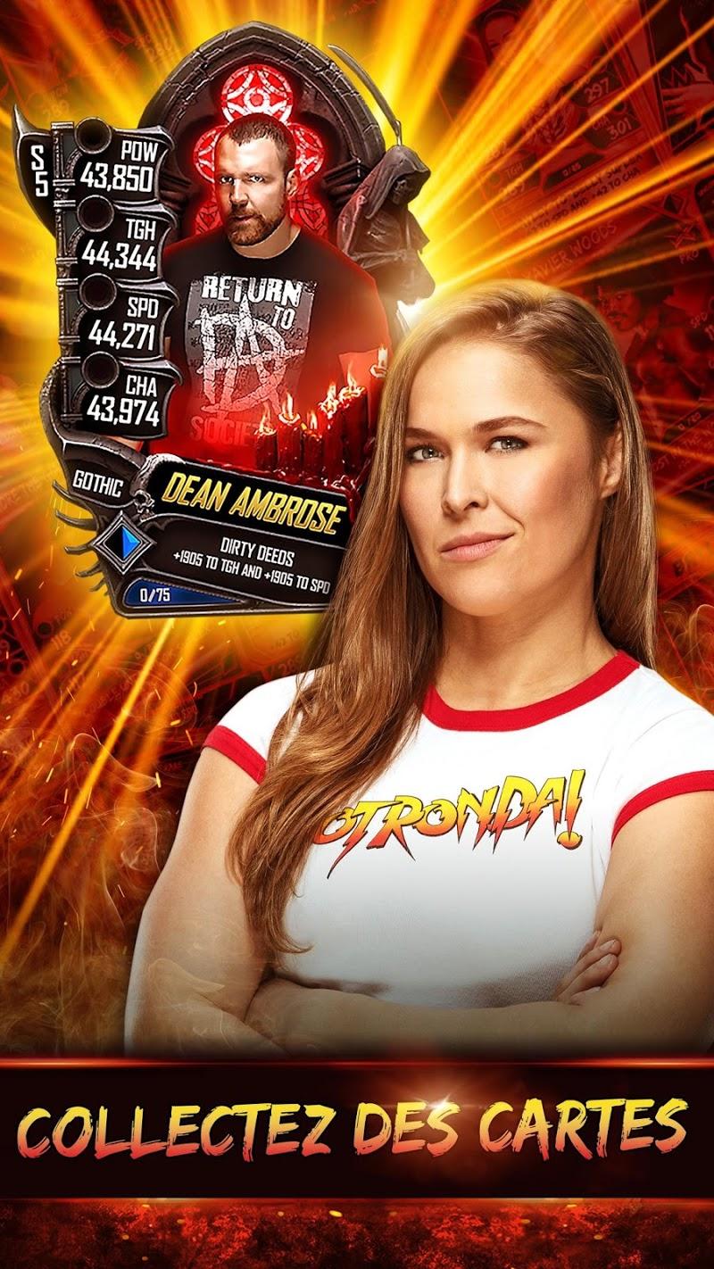 télécharger gratuitement WWE SuperCard Jeu de cartes multijoueur PC et Mac