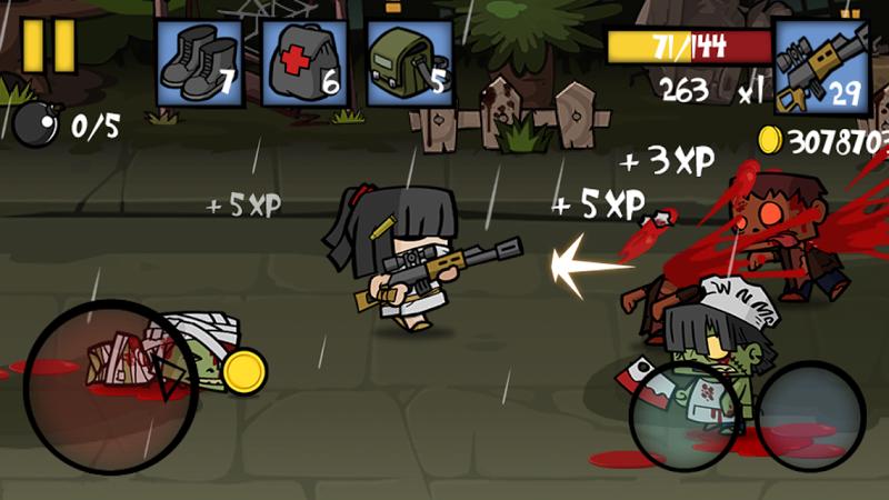 télécharger gratuitement Zombie Age 2 Shadow Gun  PC et Mac